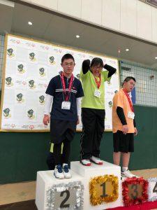 テニス表彰式2