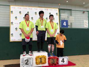 テニス表彰式